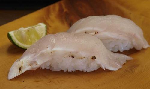 白鯖河豚焼き切り/シロサバフグ