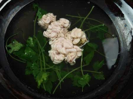 スケトウダラの白子鍋