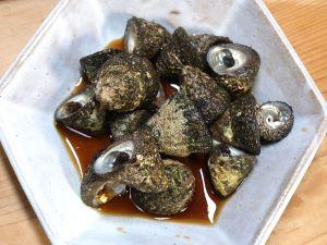 オオコシダカガンガラのしょうゆ煮