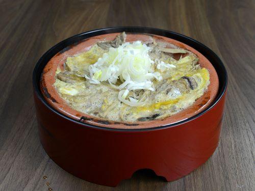 カラドジョウの柳川鍋