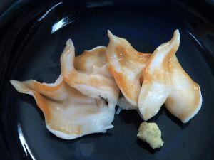 エゾイシカゲガイの刺身