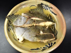 クロホシマンジュウダイのまーす煮