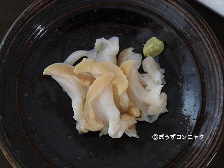 カシマナダバイの刺身