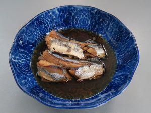 アヤトビウオの煮つけ