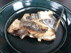 ギンザメの塩焼き