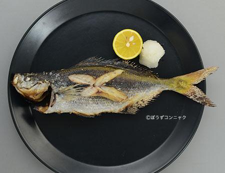 タカベの煮つけ