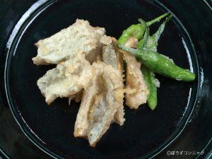 タチウオの天ぷら