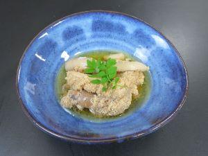 タチウオの真子の煮つけ