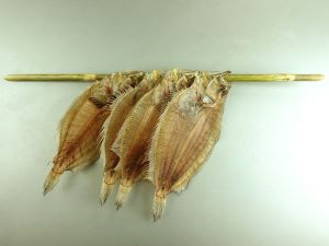 ガンゾウビラメの干ガレイ