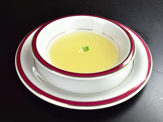 ガンゾウビラメのスープ