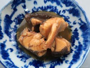 コモンサカタザメのみそ煮