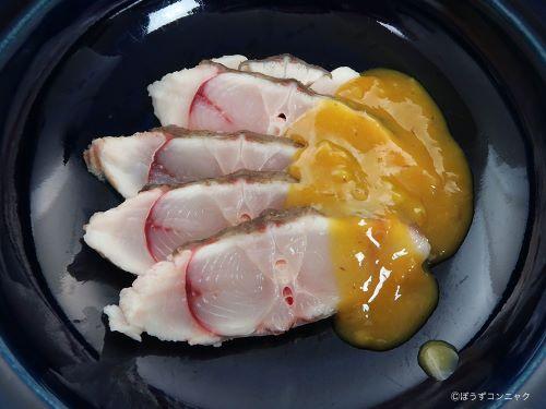 コモンサカタザメの刺身