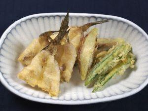 アカハゼの天ぷら