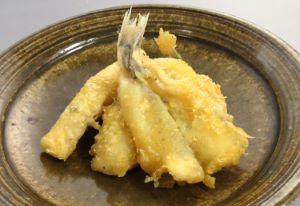 カゴシマニギスの天ぷら