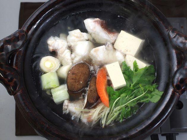 コブダイのちり鍋