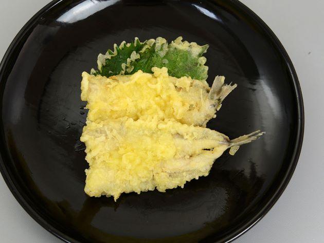 ニギスの天ぷら