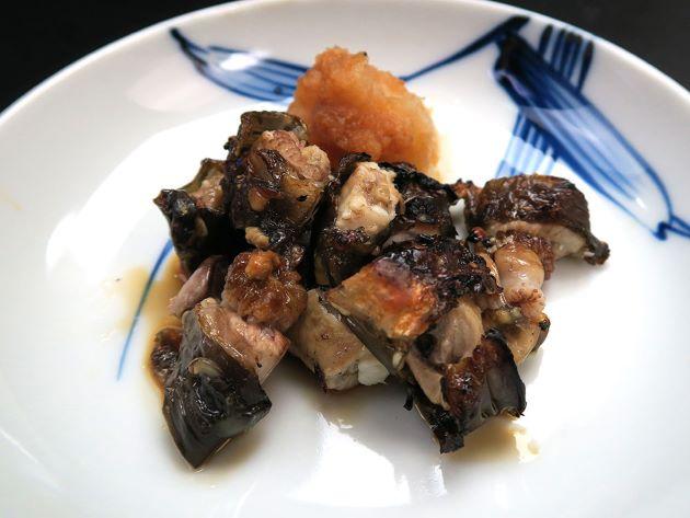 クロヌタウナギの素焼き