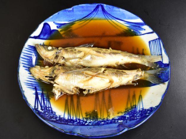トモメヒカリの天ぷら