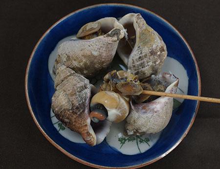 ヒメエゾバイの煮貝