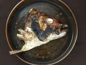 ナガサキフエダイの塩焼き