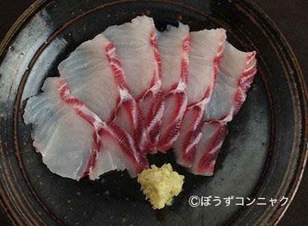 ドチザメの刺身
