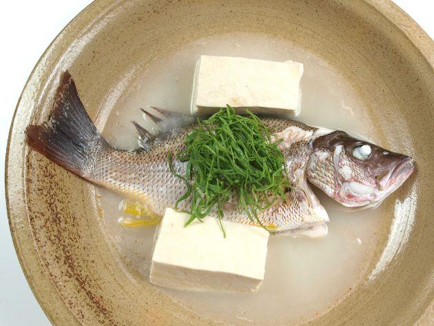 クロホシフエダイのまーす煮