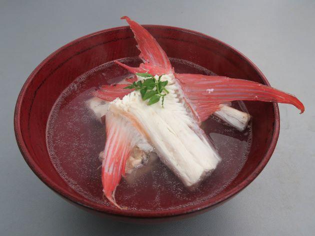 ヤガラの潮汁