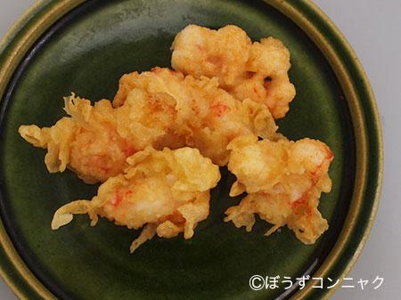 オキナエビの天ぷら
