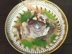グルクンマチの魚汁