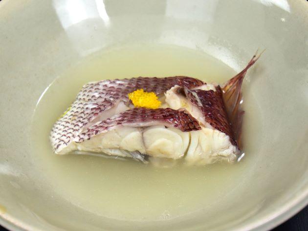 オゴダイの酒塩煮