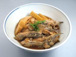 ヒラと竹の子の煮つけ