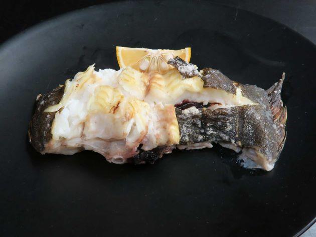 ヒラメの塩焼き