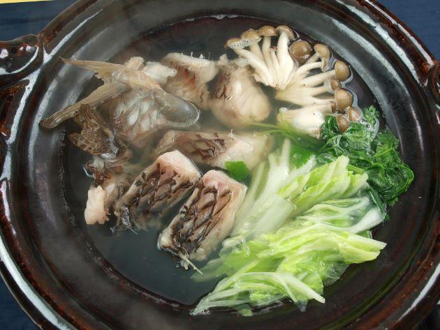 ブダイのちり鍋