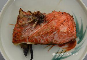 ベニザケの塩焼き