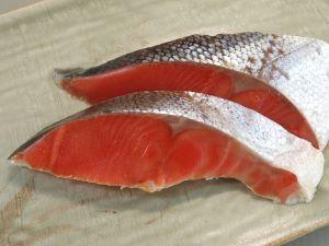 ベニザケの塩鮭