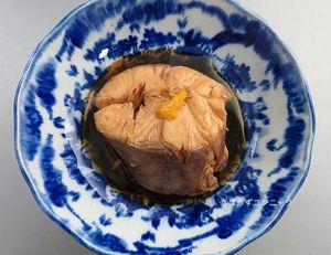 アブラツノザメの煮つけ