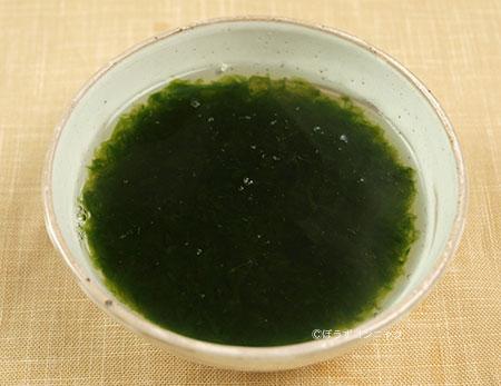 ヒロハノヒトエグサの汁