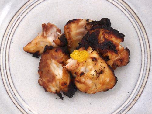 シマフグのポン酢焼き