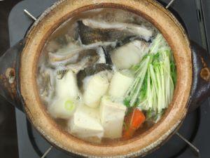 ホッケのちり鍋