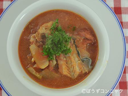 チャネルキャットフィッシュのスープ