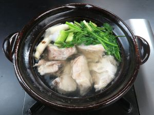 コモンハタのちり鍋