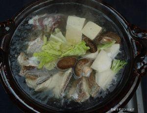 マダイのちり鍋