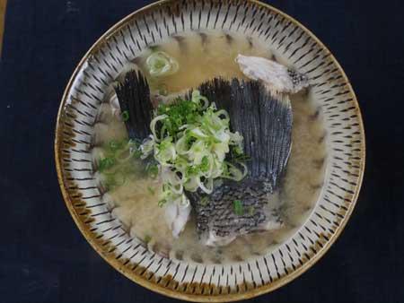 マツダイの味噌汁
