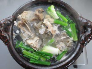 マトウダイの水炊き