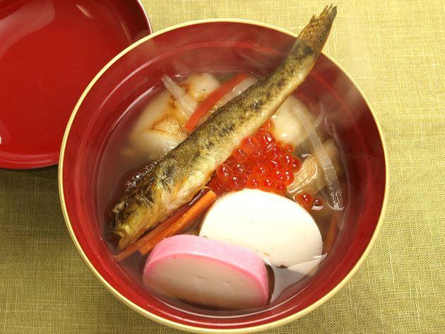 焼きはぜで作った仙台雑炊