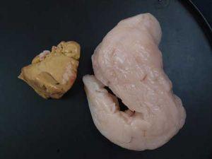 マンボウの皮と肝