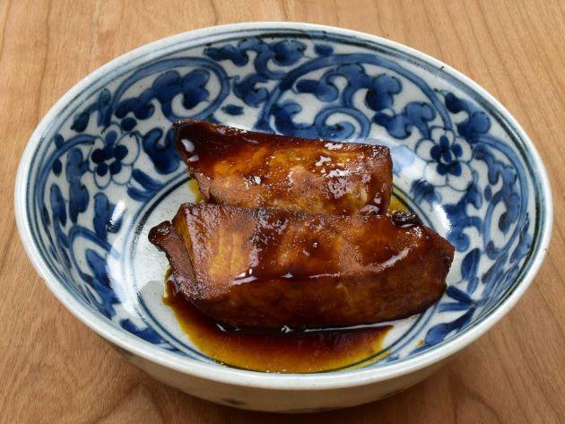 メカジキの東京風甘辛煮つけ