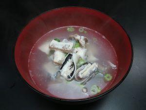 ナガユメタチモドキの潮汁