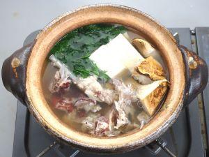 アカグツのちり鍋