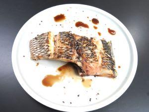 ハマフエフキの塩焼き